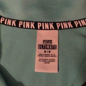 PINK Victoria's Secret Jackets & Coats - Pink Ultimate Pullover Half-zip